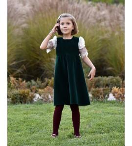 1 Rochita Catifea Verde Riya