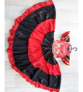 Costum serbare flamenco