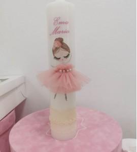 Lumânare balerina personalizată